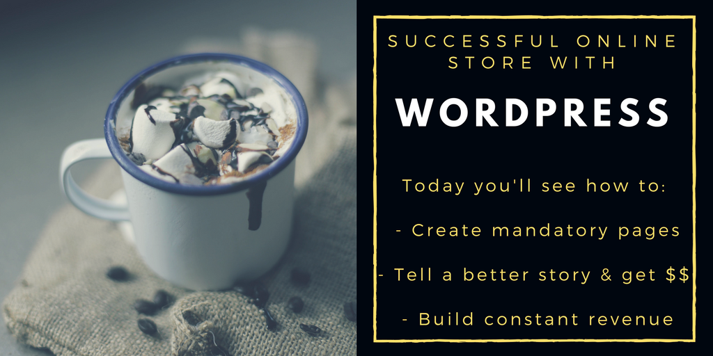 successful online store with wordpress