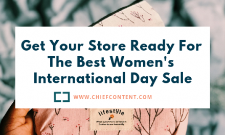 Get Your Store Ready For The Best Women's International Day Sale