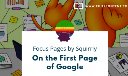 S1. E5. – Focus Pages by Squirrly – On the First Page of Google