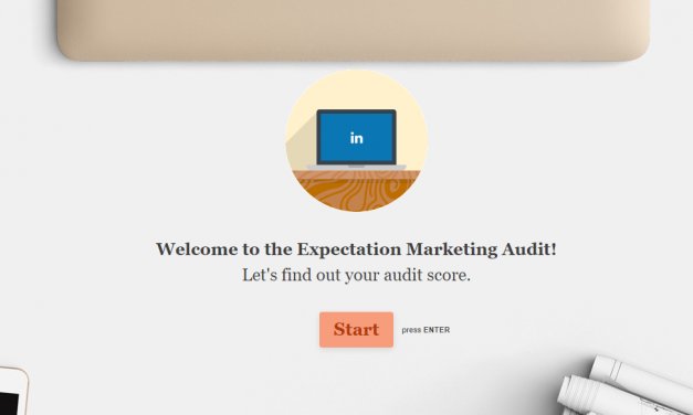 Lesson 3: How to Audit Your Site to See If You're Doing Expectation Marketing Right