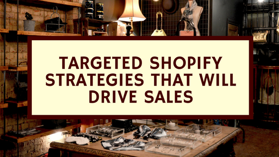 Targeted Shopify Strategies that will drive sales