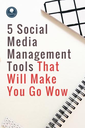 Social Media Management Toos